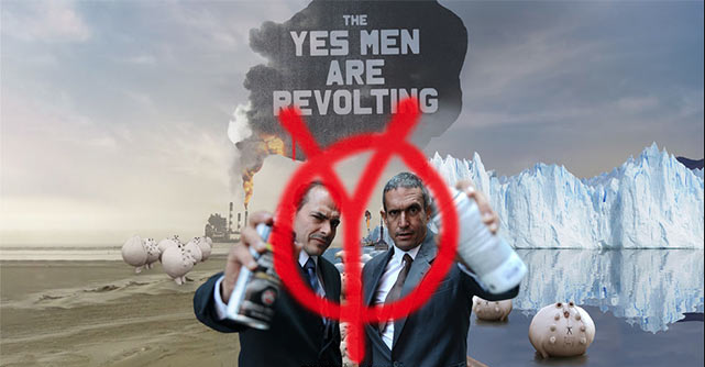 The Yes Men visit Aarhus