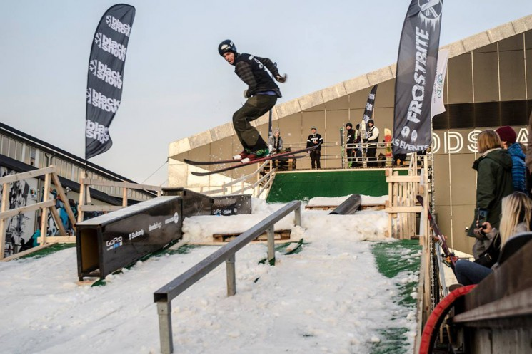 Freestyle skiing and snowboarding @ Bakken Aarhus