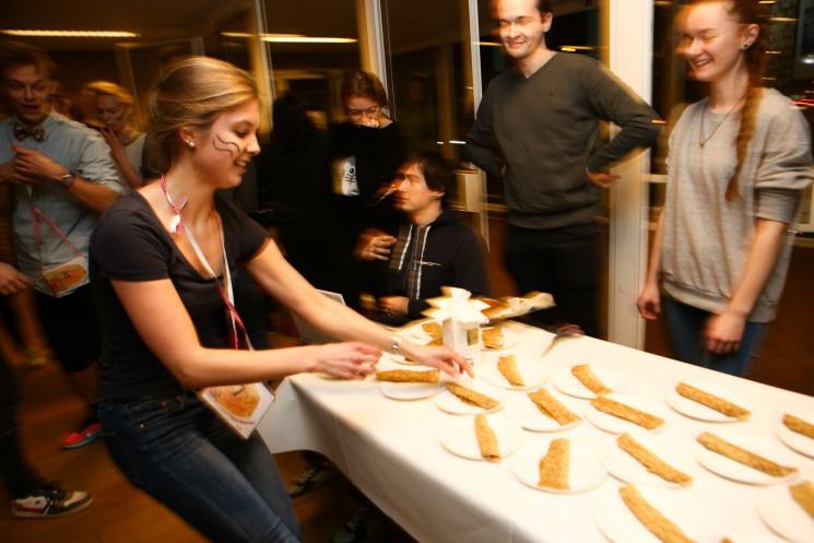 Pancakes on the run @ Studenterhus Aarhus