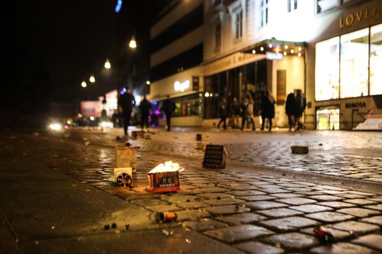 Firecracking into 2017 @ Store Torv, Aarhus