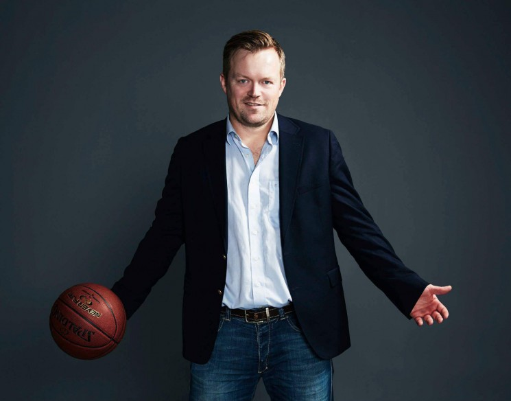 TV2's Thomas Bilde talks about Denmark's growing interest in NBA hoops