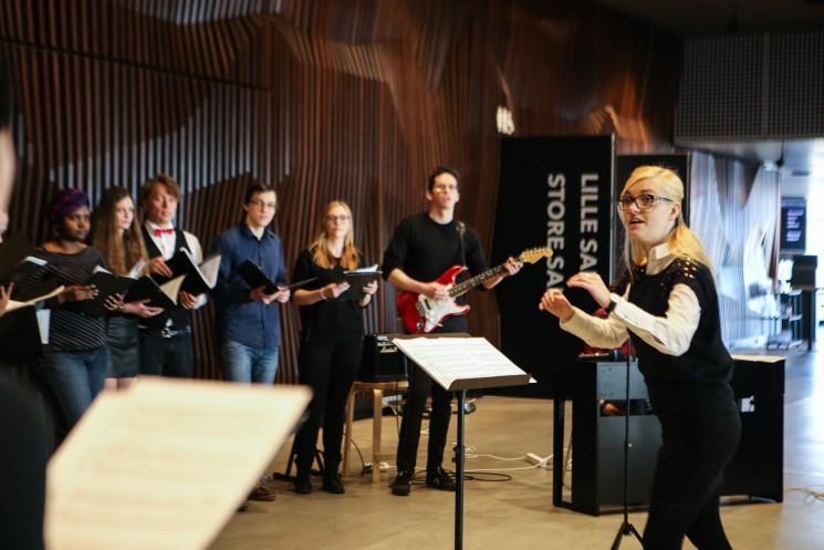 Community building through music