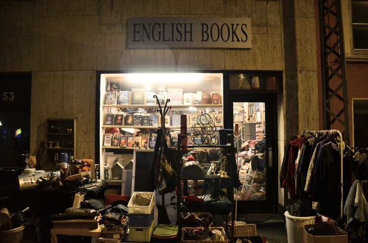 A paradise of English books in Aarhus