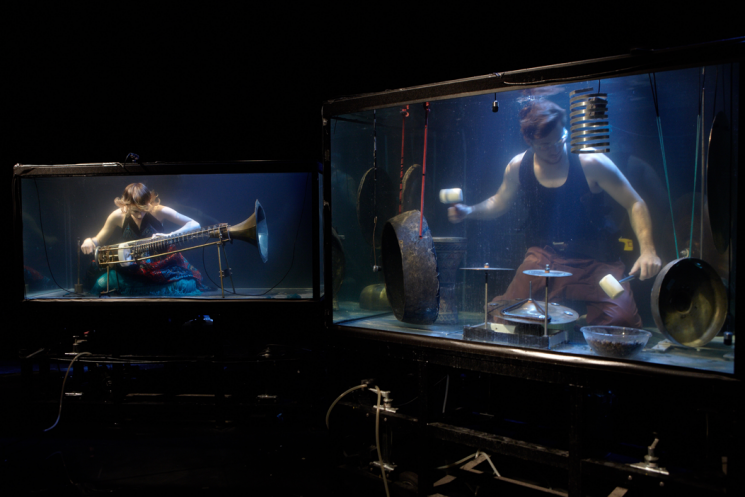 Aquasonic: An eerily profound underwater performance