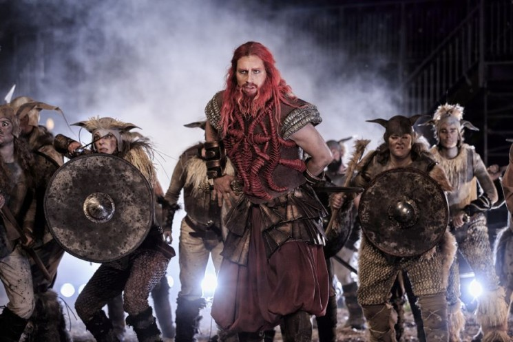 Theatre review: A display of Viking splendour in 'Røde Orm'