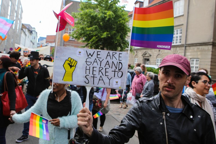 The city fills with colour at Aarhus Pride 2017