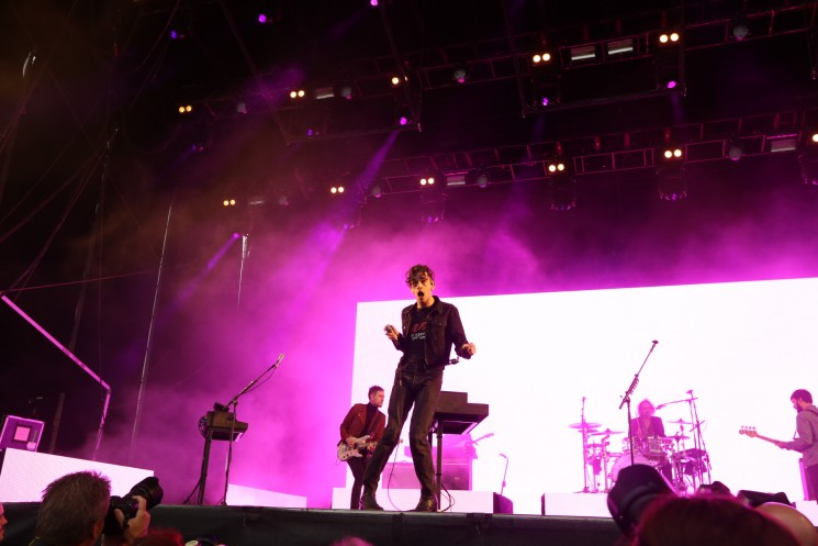 The 1975 rocked Northside's penultimate show on Sunday night
