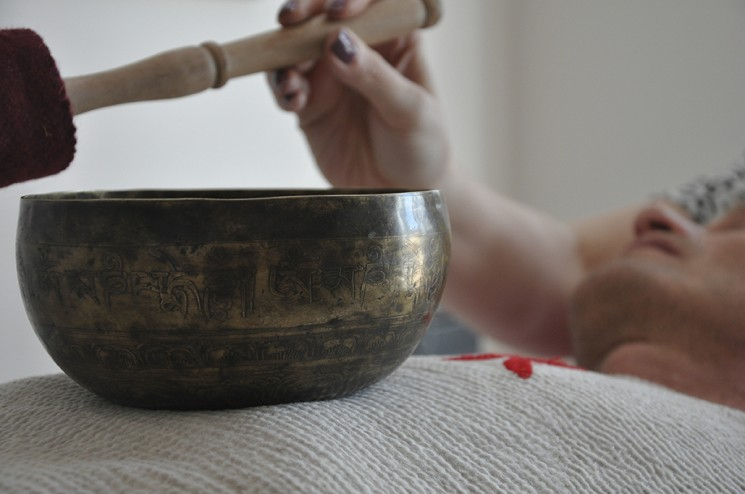Tibetan bowl therapy as a cure