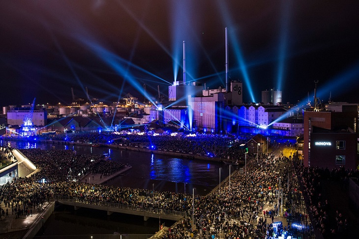 Aarhus ends its year as European Capital of Culture with a festival of lights and music