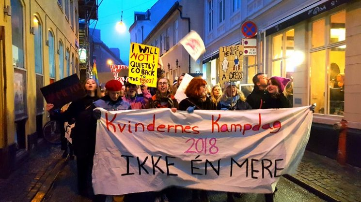 In Denmark, Feminism is still considered a bad word