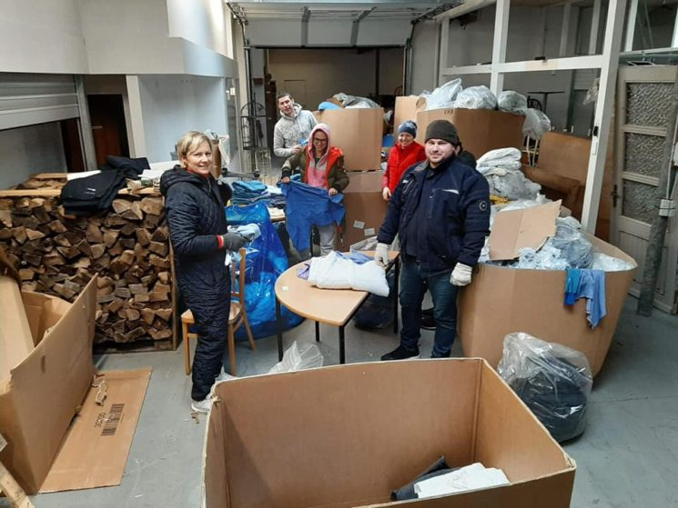 Bevar Ukraine: Ukrainians living in Denmark are helping their homeland
